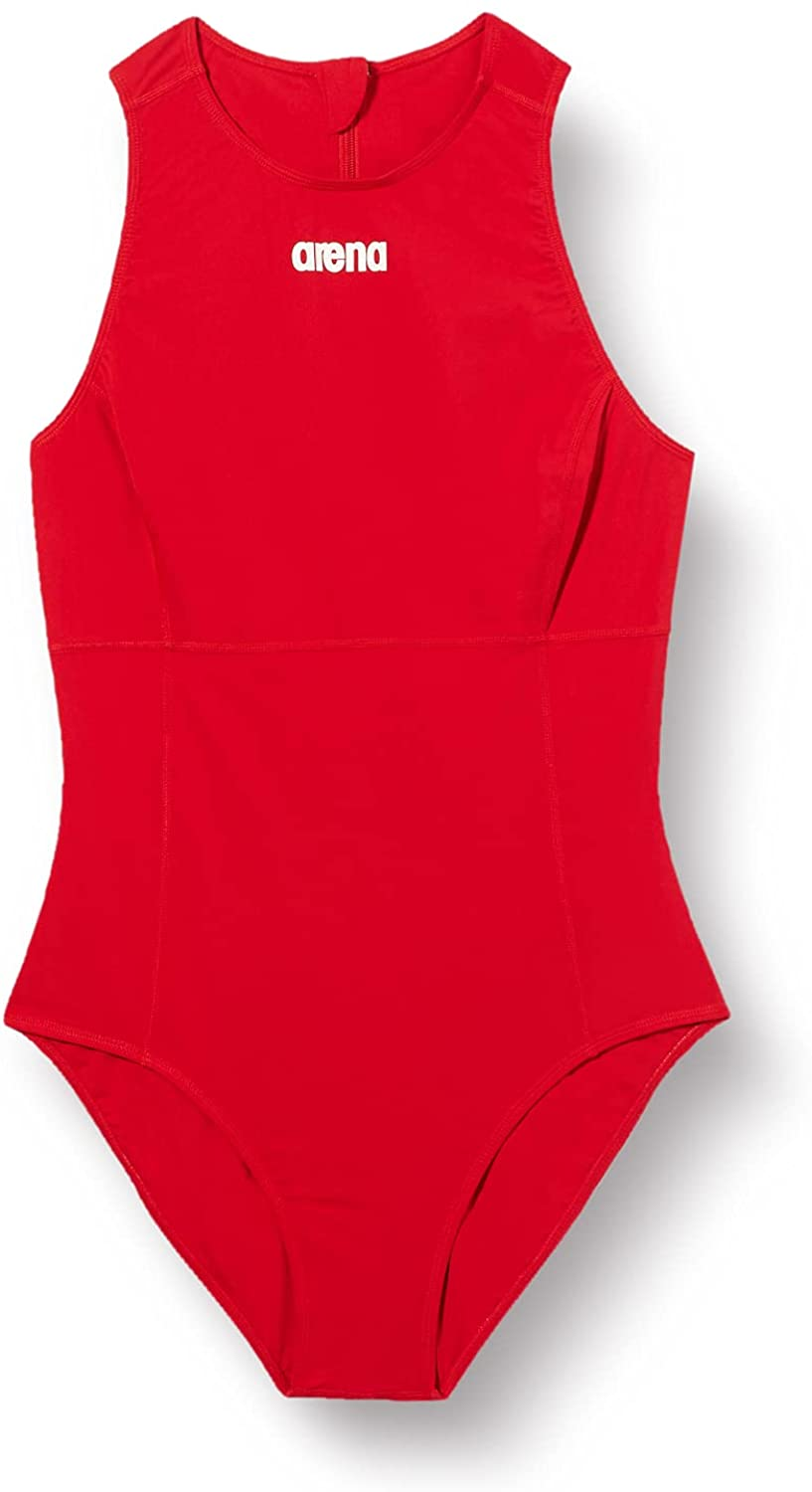 Arena Women's Free shipping on posting reviews Solid Waterpolo overseas Piece Swimsuit One