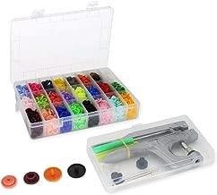 Botones de presi/ón Color Rojo Yline KAM Snaps 3104 25 Unidades, pl/ástico, 12,4 mm
