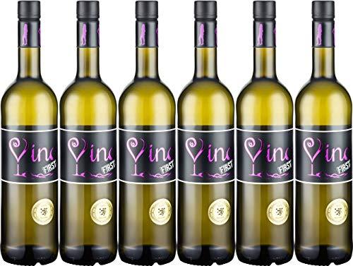 Bergsträßer Winzer VINAS First Weißwein-Cuvée QbA 2019 Feinherb (6 x 0.75 l)