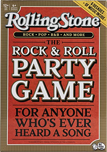 2. Big Potato Rolling Stone: The Music Trivia Game Where Legends are Made