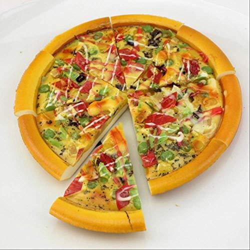 yuanchuang Imanes Nevera 8 Piezas De Simulación De Pizza Pequeña Pieza Imán De Nevera De Pizza Duradero Realista