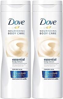 Dove Body Lotion Essential Nourishment, 2 X 250 ml