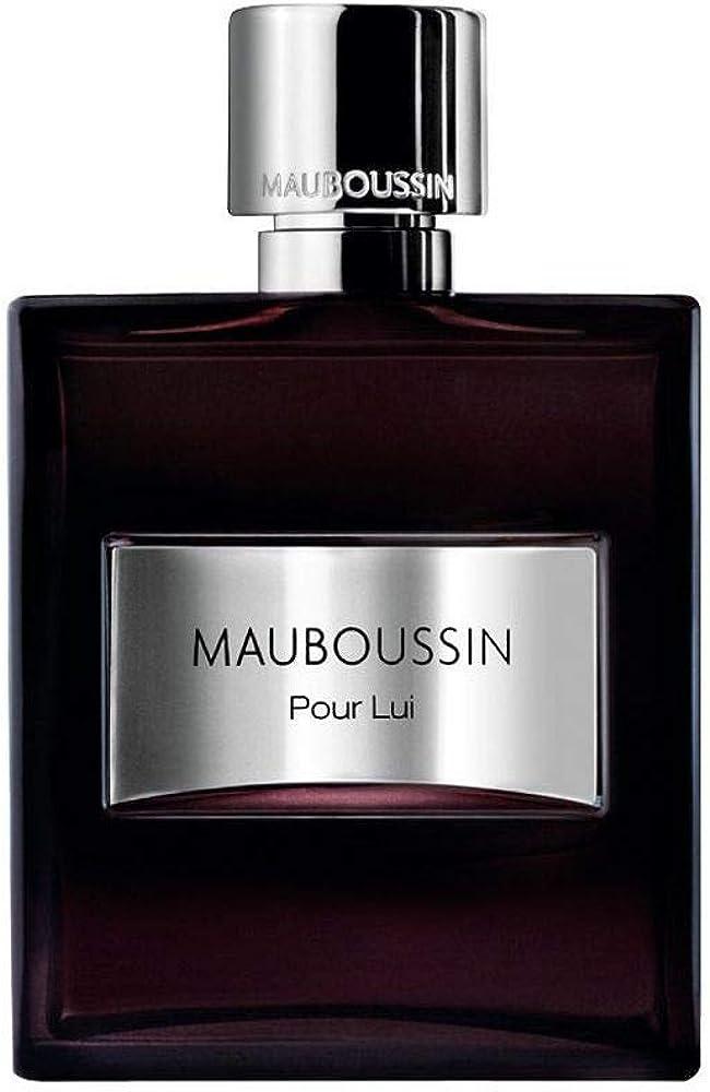 Mauboussin pour lui, eau de parfum,profumo per uomo, vapo, 50 ml 3760048792844