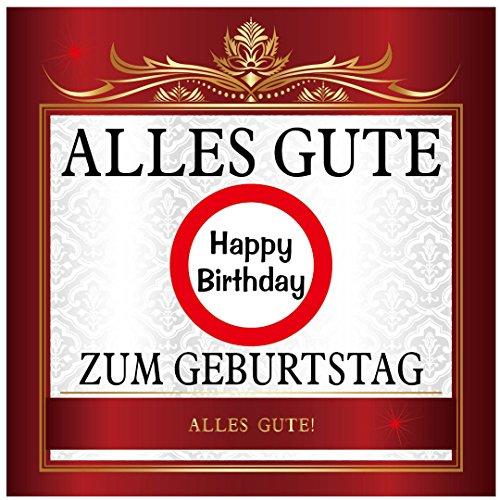 Udo Schmidt Stickers Alles Gute zum Geburtstag Happy Birthday Sticker