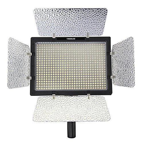 Yongnuo YN-600 Pro LED 5500K Videoleuchte für Canon Nikon DSLR-Kamera Camcorder