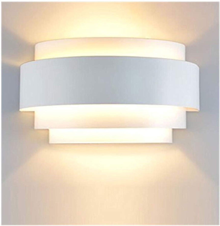 LMDH Moderne led wandleuchte schlafzimmer gang nachttischlampe weie wandleuchte treppe schmiedeeisen wandleuchte flur licht