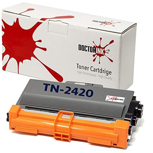 Toner Compatibile Brother TN2420 TN-2420 Nero CON CHIP per stampanti HL-L2310D HL-L2350DN HL-L2370DN HL-L2375DW MFC-L2710DN MFC-L2710DW MFC-L2730DW MFC-L2750DW DCP-L2510D DCP-L2530DW