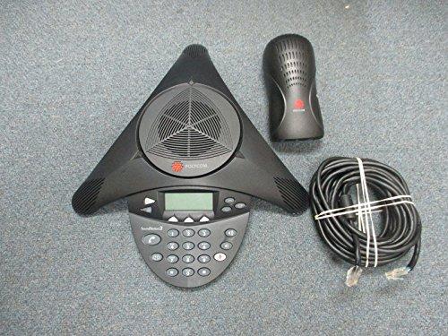 Polycom SoundStation 2 2201-16000-601 - Teléfono de conferencia no expandible