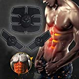 Jumix 5 In 1 ABS Trainer Ab Belt, Abdominal Muscles Toner, Body Fit