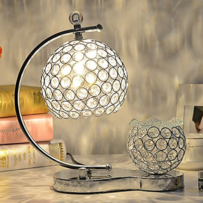 Sunny Aromatherapie therisches l Tischlampe bhmische Tischlampe farbige Kristall Tischlampen Schlafzimmer Bar handgefertigte kreative Tischlampe,transparentFarbe