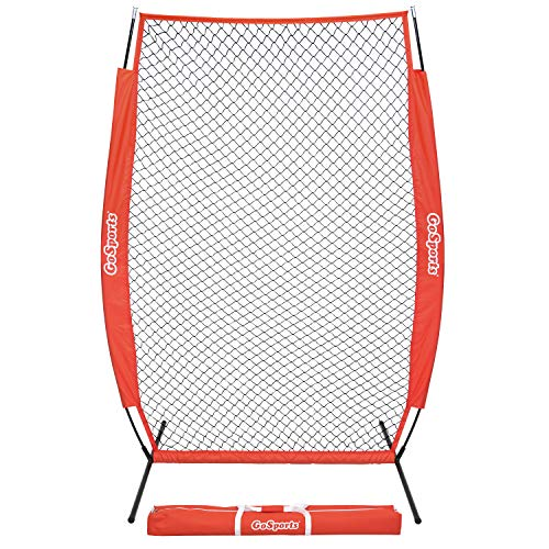 GoSports 7' x 4' - Screen - Baseball & Softball Pitcher Protection Net, Must Have for Safe Training