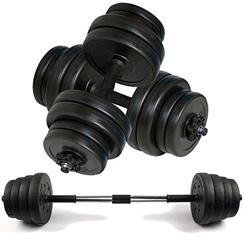 Body Revolution Dumbbell Set – Adjustable Dumbbells Weight Set for Men and Women with Barbell Link – Various Weights and Size Options Sold Separately