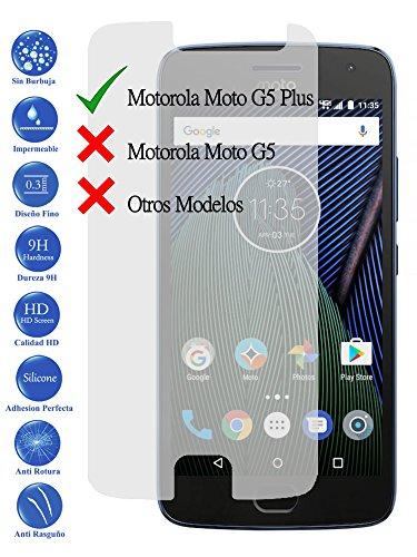 Todotumovil Protector de Pantalla Motorola Moto G5 Plus 5.2 de Cristal Templado...