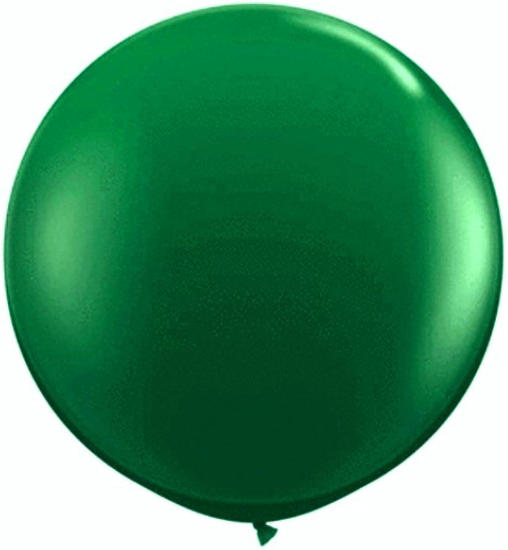 36  (3 ft) Emerald Green Jumbo Latex Balloons (Pack of 10 pc)