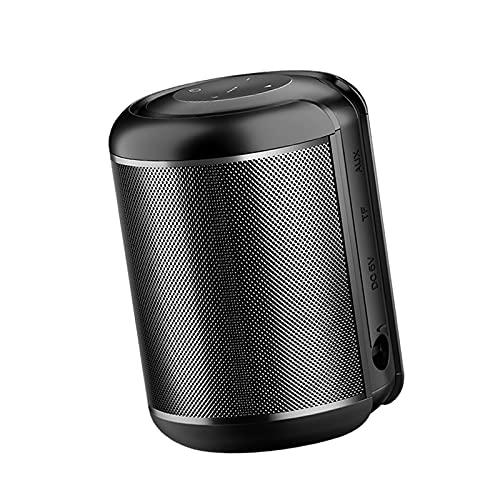Generic Altavoz Portátil Bluetooth 2200mAh Recargable, Emparejamiento para Teléfono con Música, Llamada Manos Libres - Negro