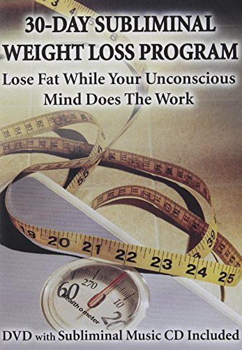 30-Day Subliminal Weight Loss Program NTSC DVD: Lose Fat While Your Unconscious Mind Does the Work