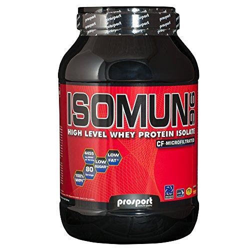 Prosport - ISOMUN 96 Eis-Kaffee 2000g Dose, Whey Protein Isolat Pulver