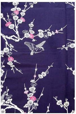 Plum #943 Yukata Authentic Japanese Samurai Fresh /& Cool Kimono