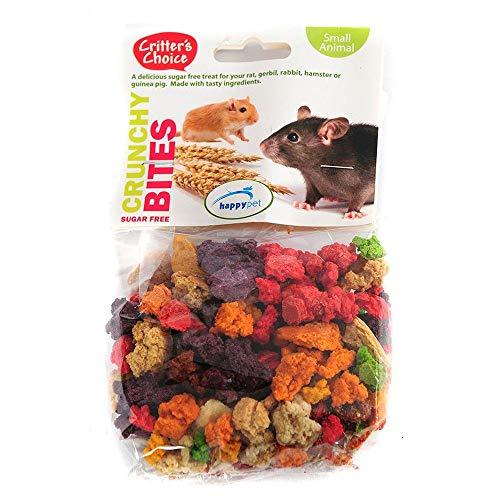 (Critters Choice) Small Animal Crunchy Bites Sugar Free 100g