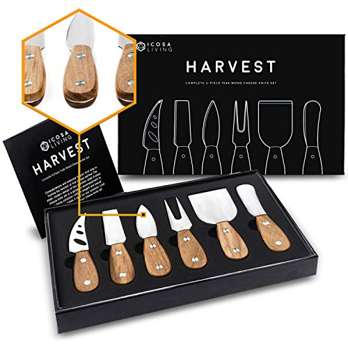 6-Piece Cheese Knife Set