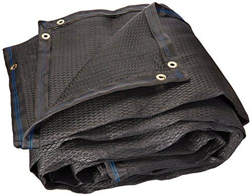 Fiero TOSO-805, Toldo de polietileno, 80% sombra, 3.60 x 5 m, negro