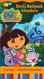Dora's Backpack Adventure [VHS]