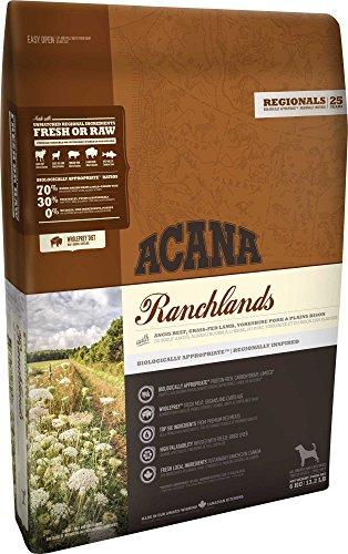 11,4 KG Acana regionals ranchlands dog hondenvoer