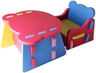 ZDAMN Enfants Table d'activité Set Enfants Table et chaises for Enfants Activité Art Set de Table Kiddie Taille Meubles fo...