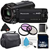 Panasonic HC-W850 Twin Camera Full HD Camcorder Bundle with Carrying...