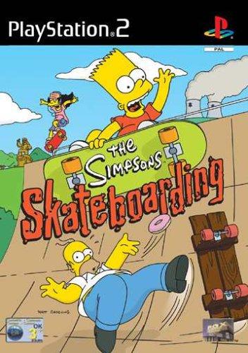 Simpsons Skateboarding