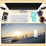 Ttoo'l Ampio Tappetino per Mouse 800x300x4mm Supercar Ⅶ Mouse Pad,Superficie Comoda e Liscia migliora precisione e velocità,per LOL Go Wow PC