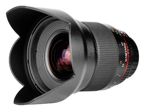 Objetiva Samyang 16mm T2.2 ED AS UMC CS VDSLR para Sony E