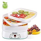 Maxkare Food Dehydrator Machine, Digital Multi-Tier Food Preservation...