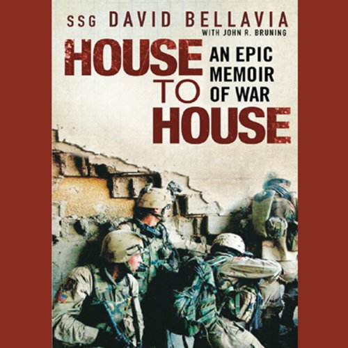 House to House     An Epic Memoir of War              By:                                                                                                                                 Staff Sergeant David Bellavia,                                                                                        John Bruning                               Narrated by:                                                                                                                                 Ray Porter                      Length: 9 hrs and 20 mins     1,381 ratings     Overall 4.7