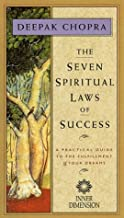 THE SEVEN SPIRITUAL LAWS OF SUCCESS - Filmed before a live TV audience , this video offers Dr. Chopra's step-by-step description of a system for developing one's 'pure potentiality' for happiness. VHS Videocassette (NTSC). Color. 80 minutes. In slipcase as shown.