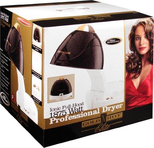 Gold N Hot Gh5135v1 Elite Full Hood Professional Hair Dryer