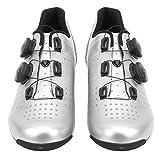 Salaty Zapatillas de Ciclismo, Zapatillas de Ciclismo Antideslizantes para Bicicleta, Electrochapa Resistente al Desgaste 1 par para Bicicleta de Ciclismo