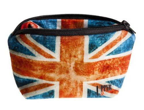 Upper & Co Trousse à Bijoux UK Flag Vintage