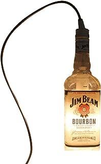 BHGlass Jim Beam Pendant Hanging Light - Liquor Bottle Pendant Lamp