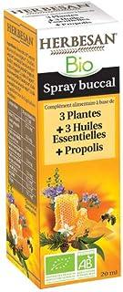HERBESAN SPRAY 3 PLANTES 3 HUILES ESSENTIELLES PROPOLIS BIO - Spray 20 ml