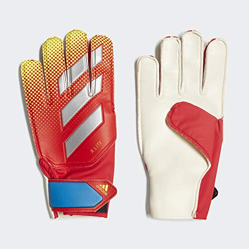 adidas DN8537, Guanti da Portiere Unisex – Adulto, Active Rosso/Solar Giallo/Football Blu, 8