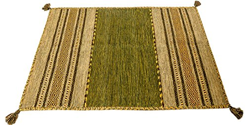 Kilim Lory Tribal 100 Cotone India 110X60 cm - (Galleriafarah1970) #