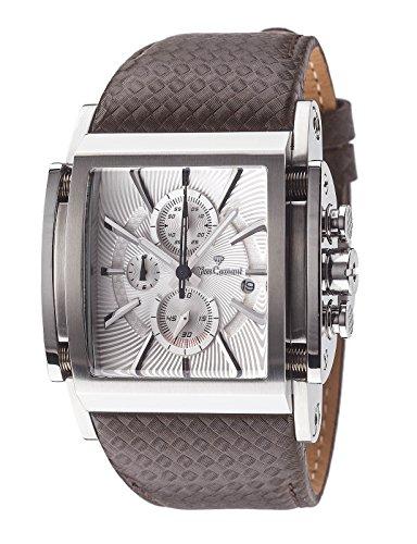 Yves Camani Herren-Armbanduhr Escaut Analog Quarz Edelstahl YC1060-D