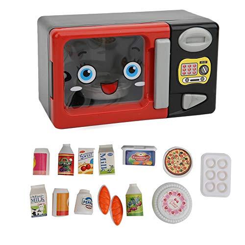 Rehomy Simulation de four à micro-ondes - Petits appareils ménagers - Accessoires de cuisine pour bébés, tout-petits, filles et garçons
