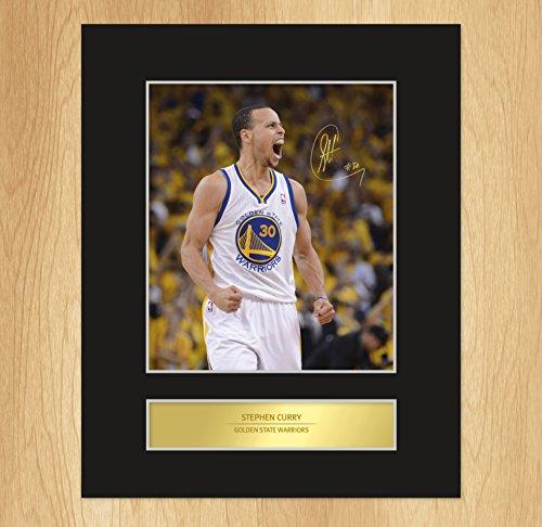 My Prints Stephen Curry targhetta Golden State Warriors Photo Display
