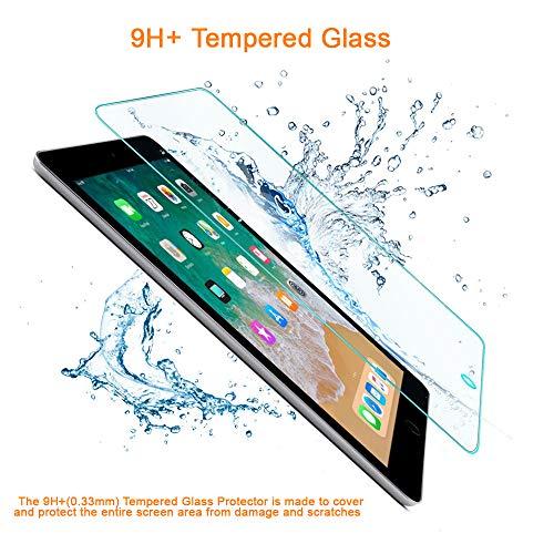 REY Pack 2X Panzerglas Schutzfolie für Huawei MEDIAPAD T3 7
