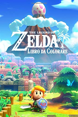 The Legend of Zelda Libro da Colorare: Coloring Book For The Legend of Zelda: Link's Awakening