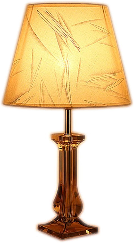 Europäische Schlafzimmer Nachttisch Lampe Persönlichkeit kreative Kristall Lampe Geschenk (Farbe   2) B074C5XD9B | eine große Vielfalt