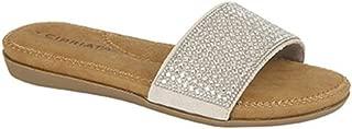 Cipriata Womens/Ladies Diamante Mule Slip On Shoe
