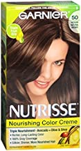 Garnier Nutrisse Haircolor - 50 Truffle (Medium Natural Brown) 1 Each (Pack of 2)